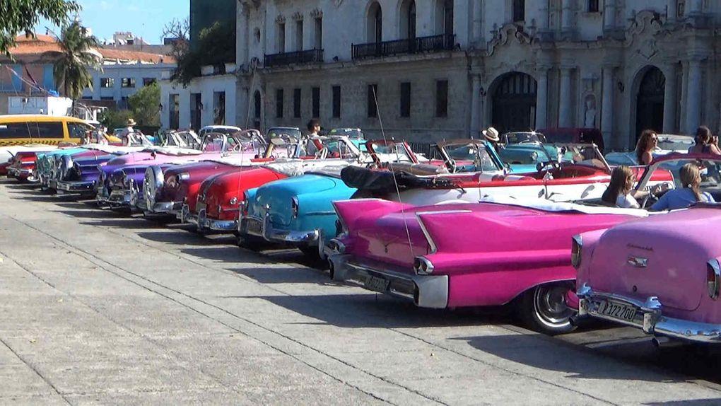 Le voyage à Cuba touche à sa fin : voici les belles américaines !