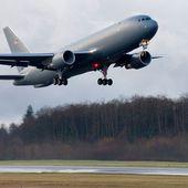 Le KC-46A prend les airs