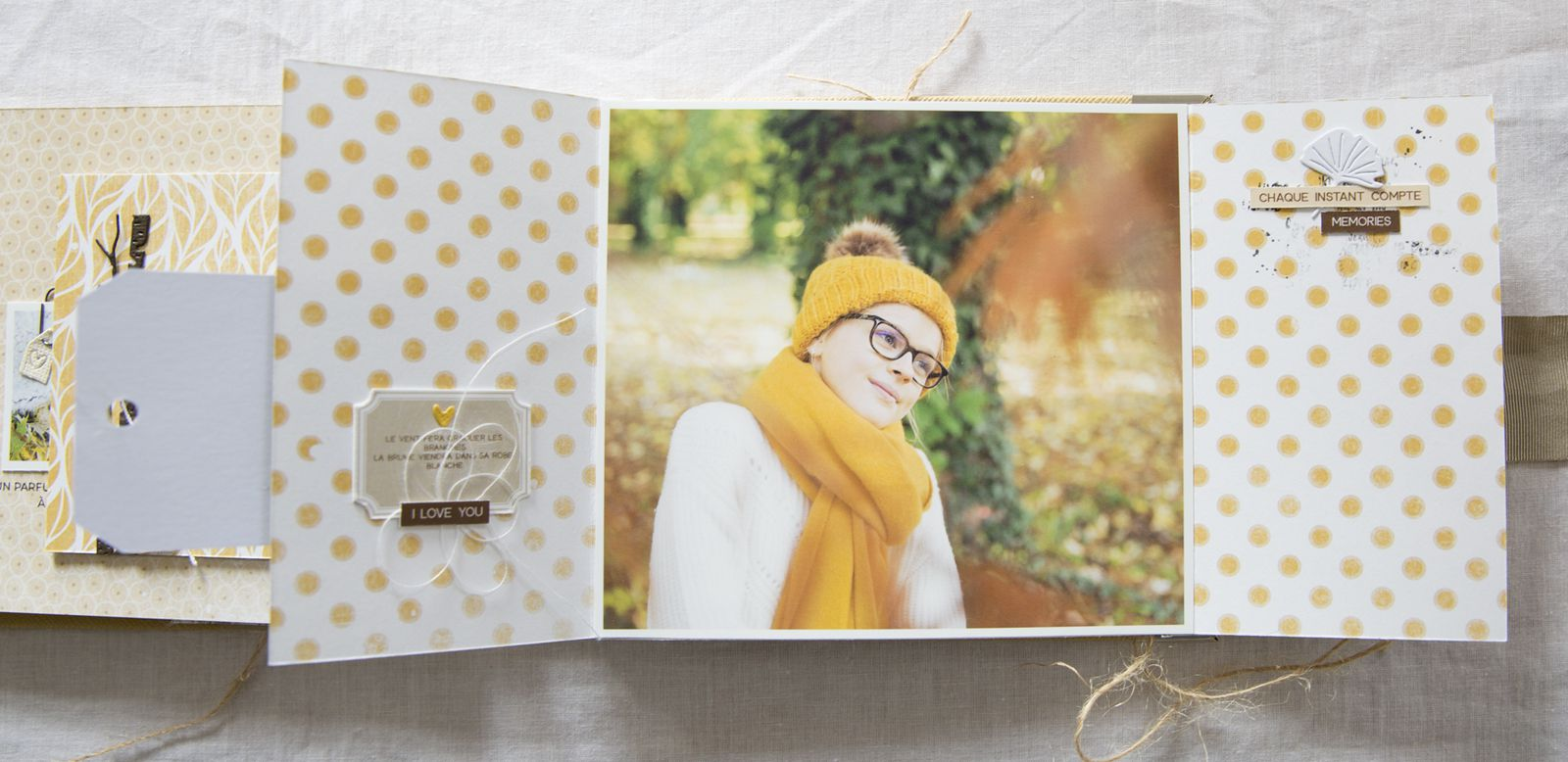 """Mini album """"Enjoy the little things"""" par Laure"""