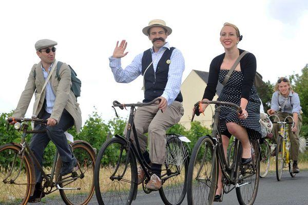 Anjou Vélo Vintage : c'est parti pour l'édition de 2014