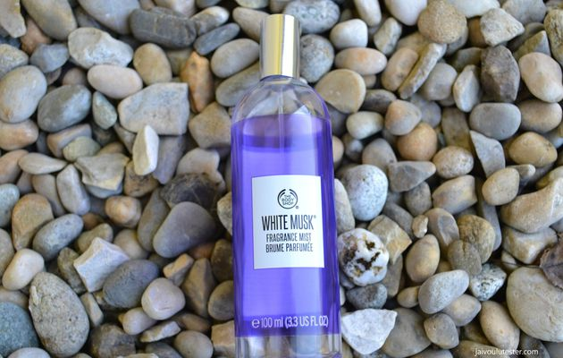 ... Mes parfums favoris du moment: White Musk, brume parfumée The Body Shop