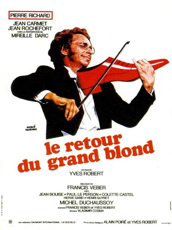 Mort de l'actrice française Mireille Darc, inoubliable dans Le Grand Blond avec une chaussure noire