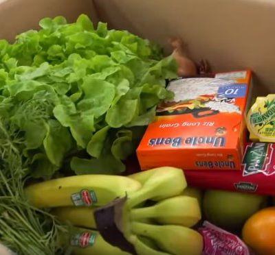 Des paniers de denrées alimentaires pour les seniors niçois non imposables