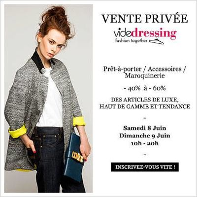 Vente Privée VIDE DRESSING