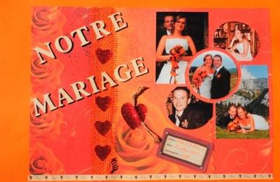 Mariage page couverture