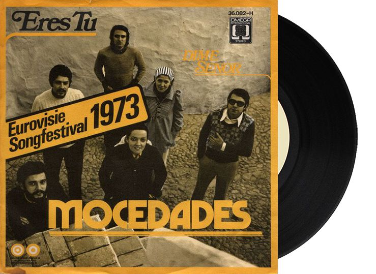"2nd - Spain - Mocedades ""Eres tú"" (125 points)"