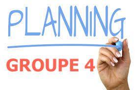 PLANNING GROUPE 4 -  2021