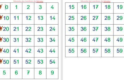 La réussite des nombres de Minaka