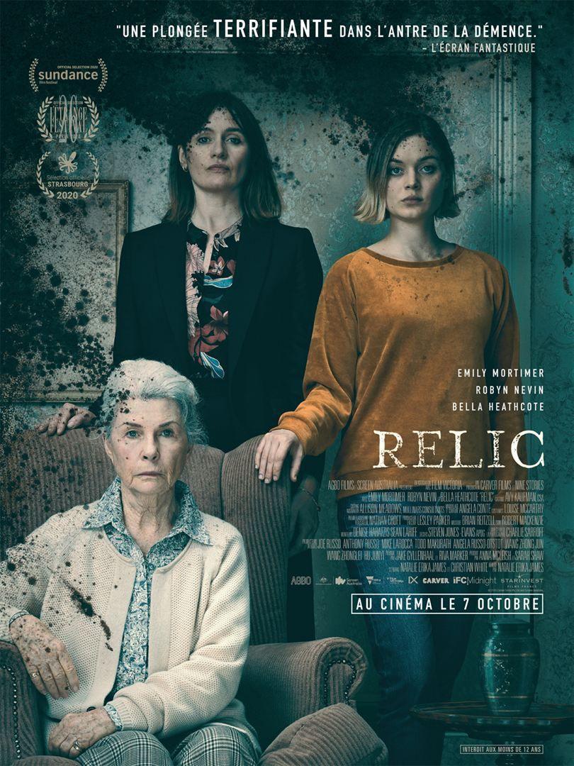 Critique Ciné : Relic (2020)