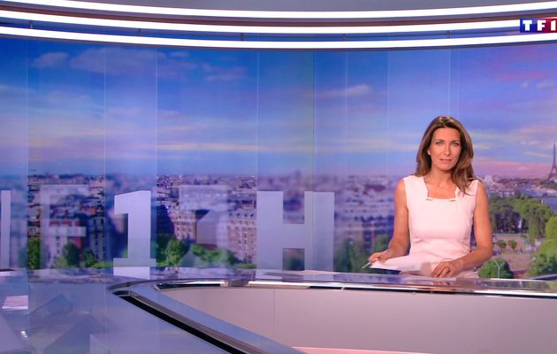 📸15 ANNE-CLAIRE COUDRAY @ACCoudray @TF1 @TF1LeJT pour LE 13H WEEK-END #vuesalatele