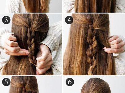 Tuto coiffure : 3 braid half updo