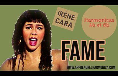 Fame - Irene Cara - Karaoke Harmonicas Ab et Bb