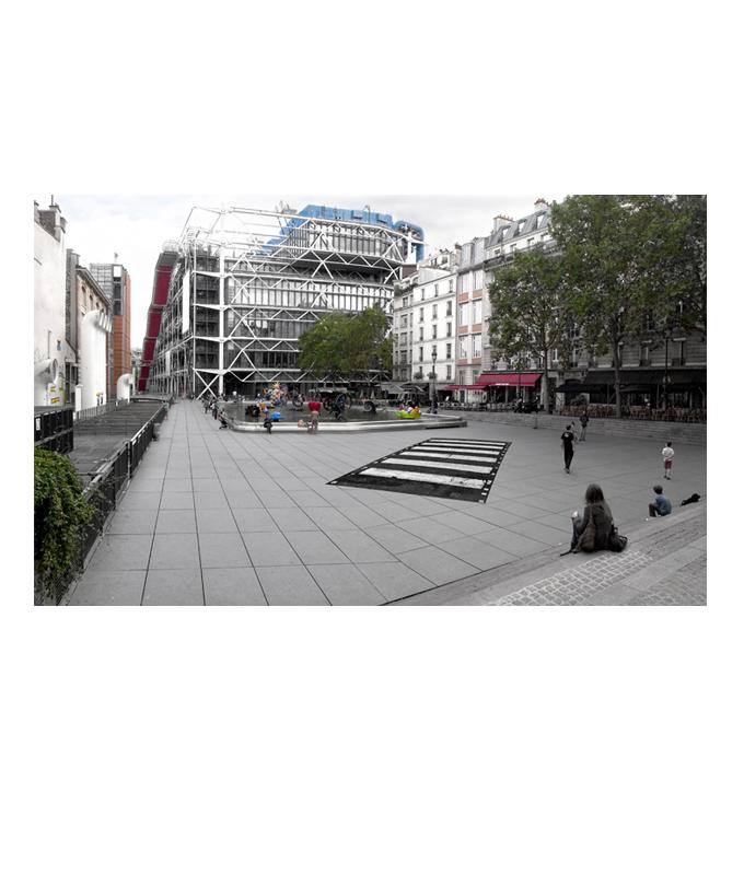 A l'occasion des 47 ans du passage piéton rendu célèbre par les Beatles, découvrez Cross the Scan/ Abbey Road en plein coeur de Paris !