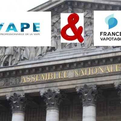 Les associations de la vape française reçues à l'Assemblée Nationale !