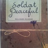 Soldat Peaceful. Michael MORPURGO. (Dès 11 ans) -