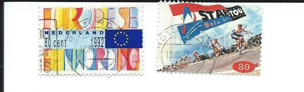 timbres Pays-Bas
