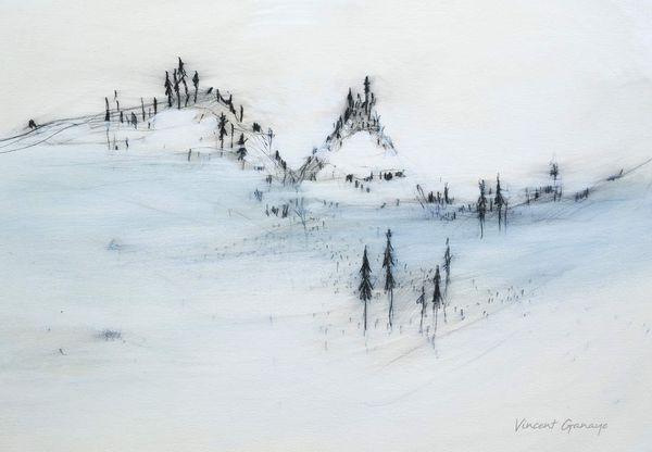 peinture - tempera - 65x90