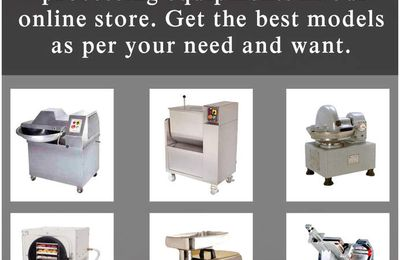 All models of meat processing equipment - Texastastes