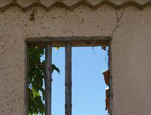 Fenêtre percée ...