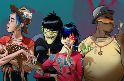 Festival We Love Green - Gorillaz pour l'édition 2021 !