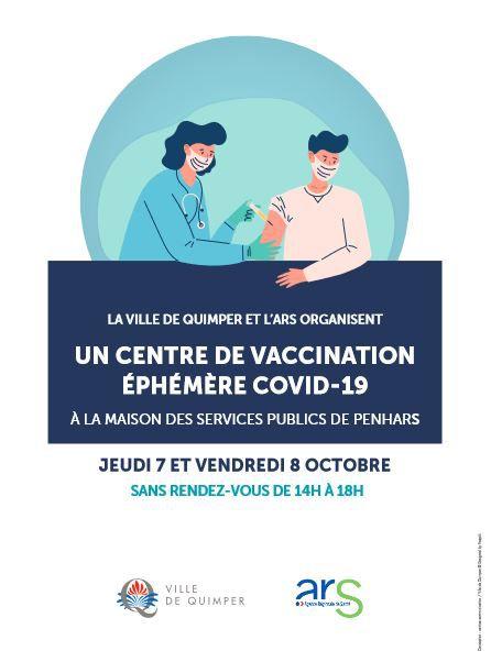 Covid-19. Vaccination sans rendez-vous jeudi et vendredi à la MSP de Penhars