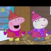 Peppa Pig Christmas 2014 Special - Full episodes in HD + Surprise eggs!