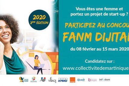 [communiqué de presse] Martinique : Lancement de la 2ème édition du Concours « Fanm Dijital » !