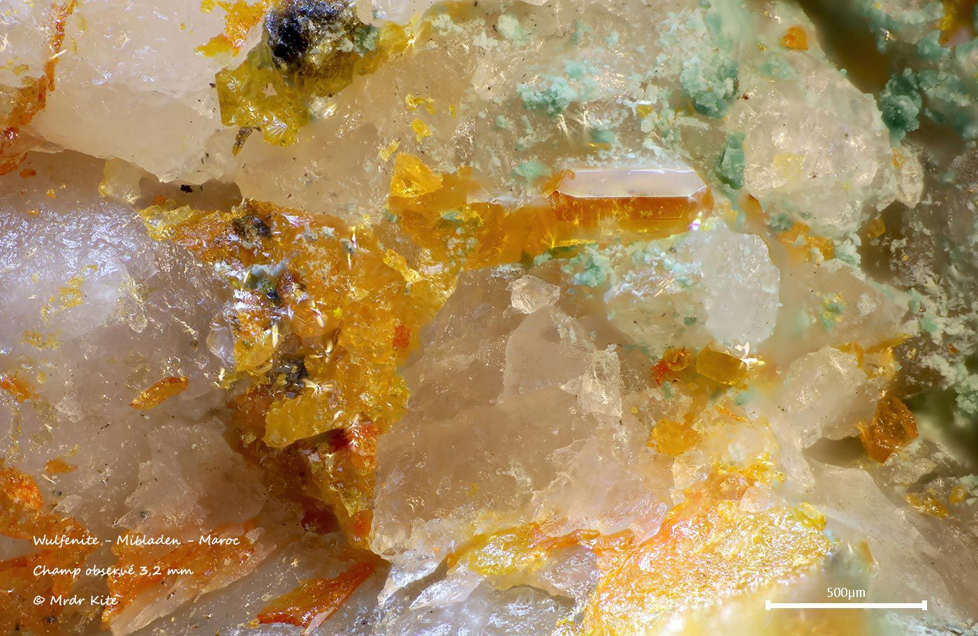 Variations sur la wulfenite
