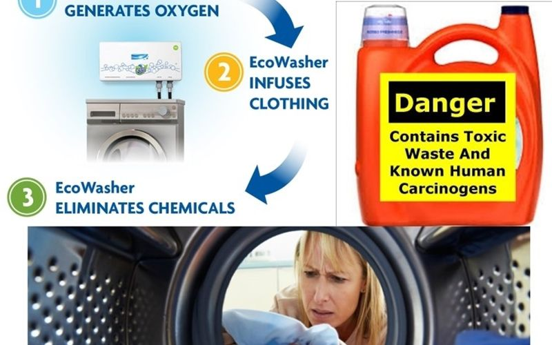 Over 7 Toxic Chemicals Discover In Laundry Detergent!