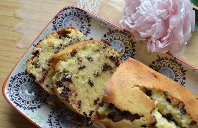 Cake aux pépites de chocolat