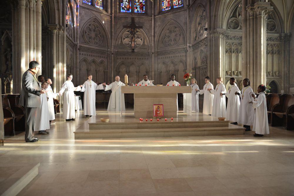 Messe en famille déc 2013 - Sainte Famille