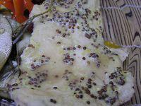 filet de poulet cuit entre 2 couches de légumes -LIGHT-