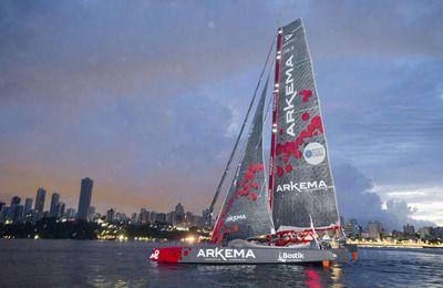 Arkema smashes record to win Transat Jacques Vabre Multi50