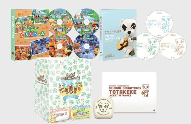 Animal Crossing : New Horizons dévoile une gigantesque bande-son de 7 CD