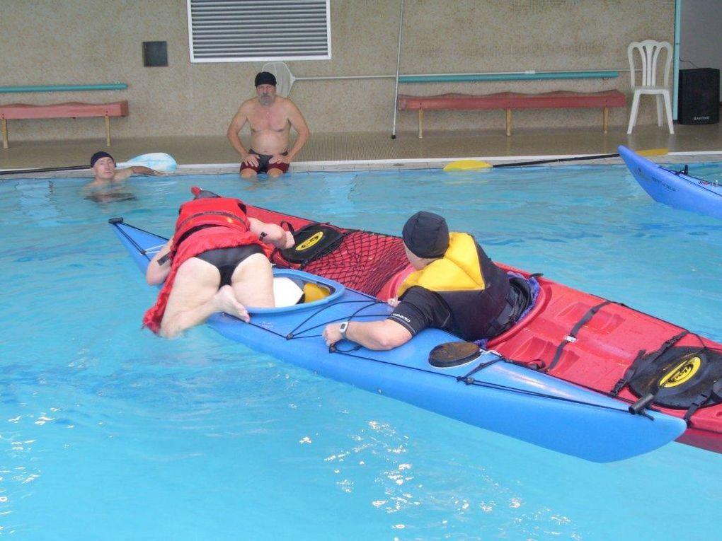 Séance d'entraînement en piscine du 7 février 2010