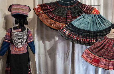 Broderies ethniques Laos