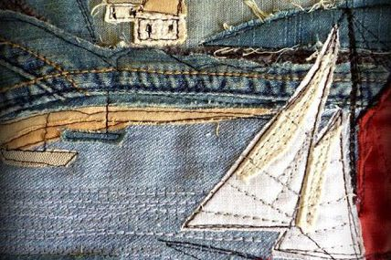 #Denim #quilts and #