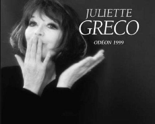 ⚫ Juliette Gréco ...