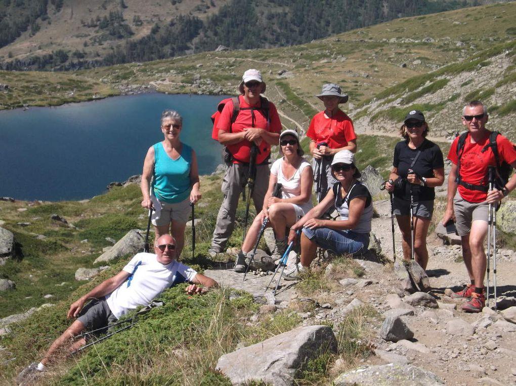 Séjour Névache, Jour 7: Chemin de Ronde, Lac Laramon, Lac Serpent, Refuge de Ricou.