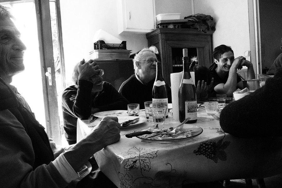 Vendanges 2012 ; malgré les rires dans les vignes, la tristesse rode sur les coteaux du Domaine