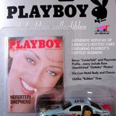 NEFERTERI SHEPHERD PLAYBOY CHEVROLET MONTE CARLO NASCAR 1995 JOHNNY LIGHTNING 1/64 - car-collector.net