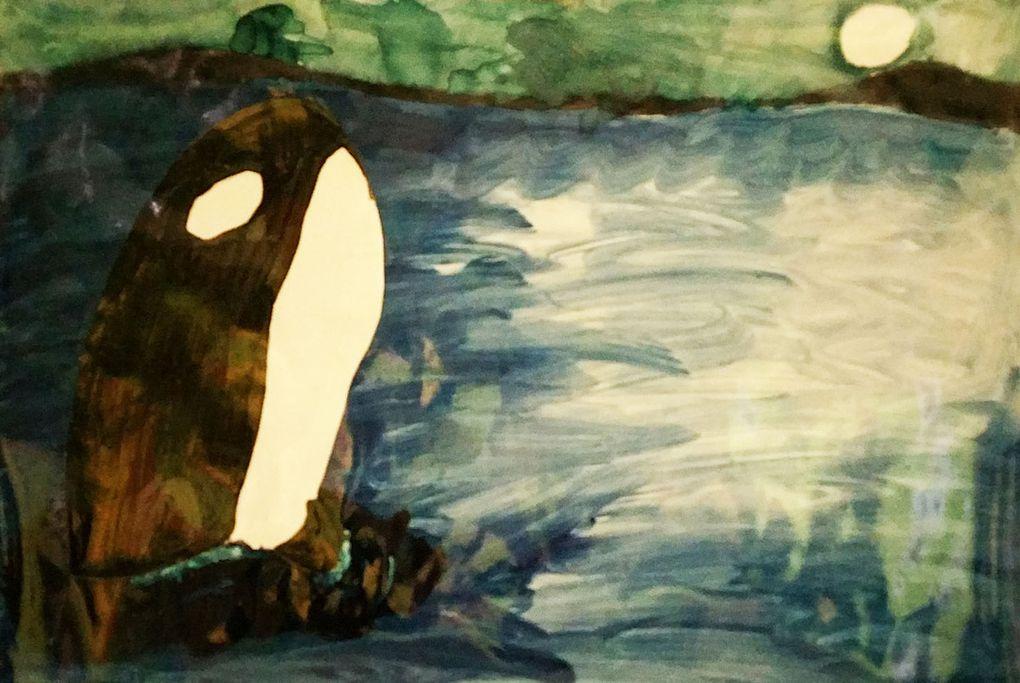 L'orque, par les élèves de C.E.2