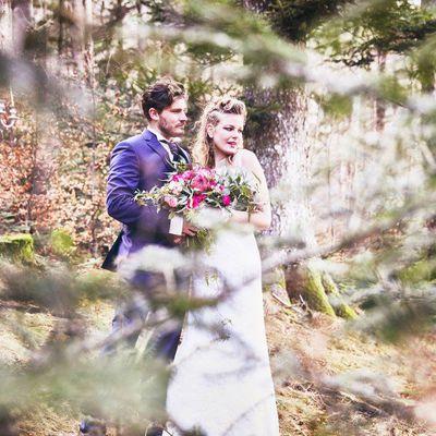 """Mariage """"Dans la Forêt"""", esprit Viking"""