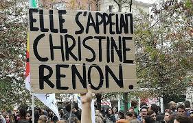 Christine Renon, nous n'oublions pas : nous luttons !