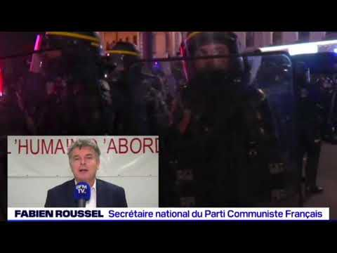 REACTION MANIF DU 28/11/2020 :