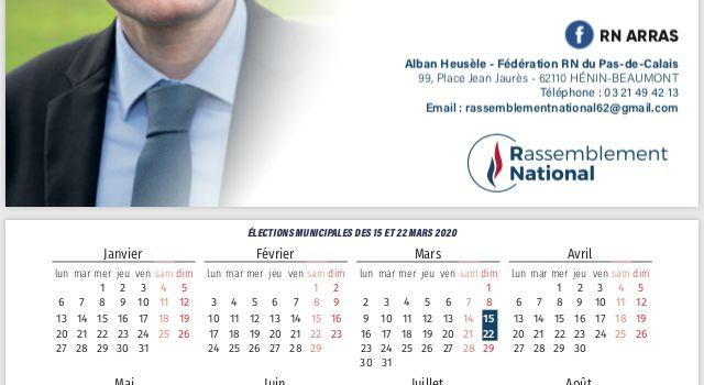 Avec Alban Heusèle, Meilleurs vœux pour cette nouvelle année. Que 2020 soit l'année du choix du bon sens à Arras.