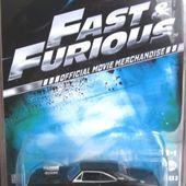 LES MODELES DE FAST AND FURIOUS - car-collector
