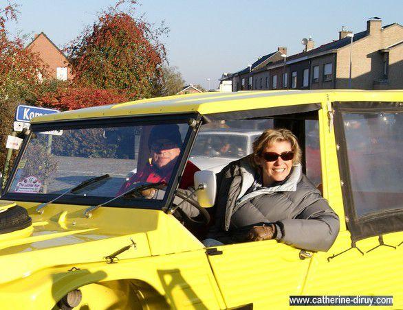 Ce dimanche 16 Octobre 2011 c'était la balade à Odette .