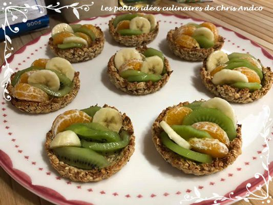Tartelettes healthy aux fruits