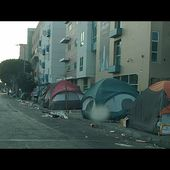 Skid Row Downtown Los Angeles Christmas Day 2017
